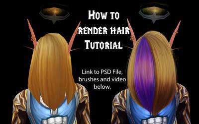 How to render hair [WMV edit video tutorial]