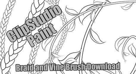 ClipStudio Paint Vine and Braid Download
