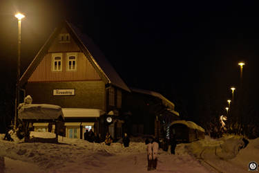 White Christmas at Station Rennsteig by tux93
