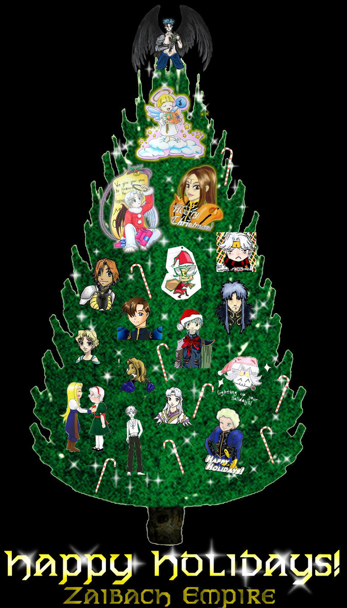 The Zaibach Christmas Tree by Zaibach-Empire