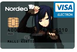 Visa Electron by Sansii