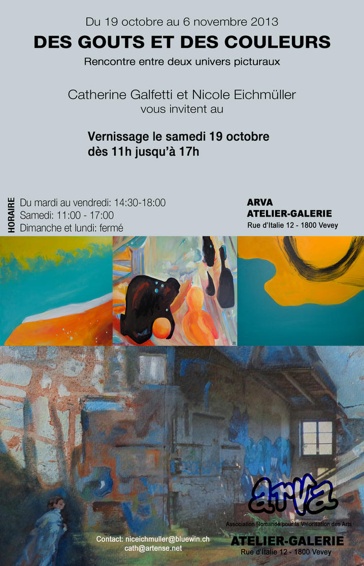Des gouts et des couleurs exhibition by cybergranny