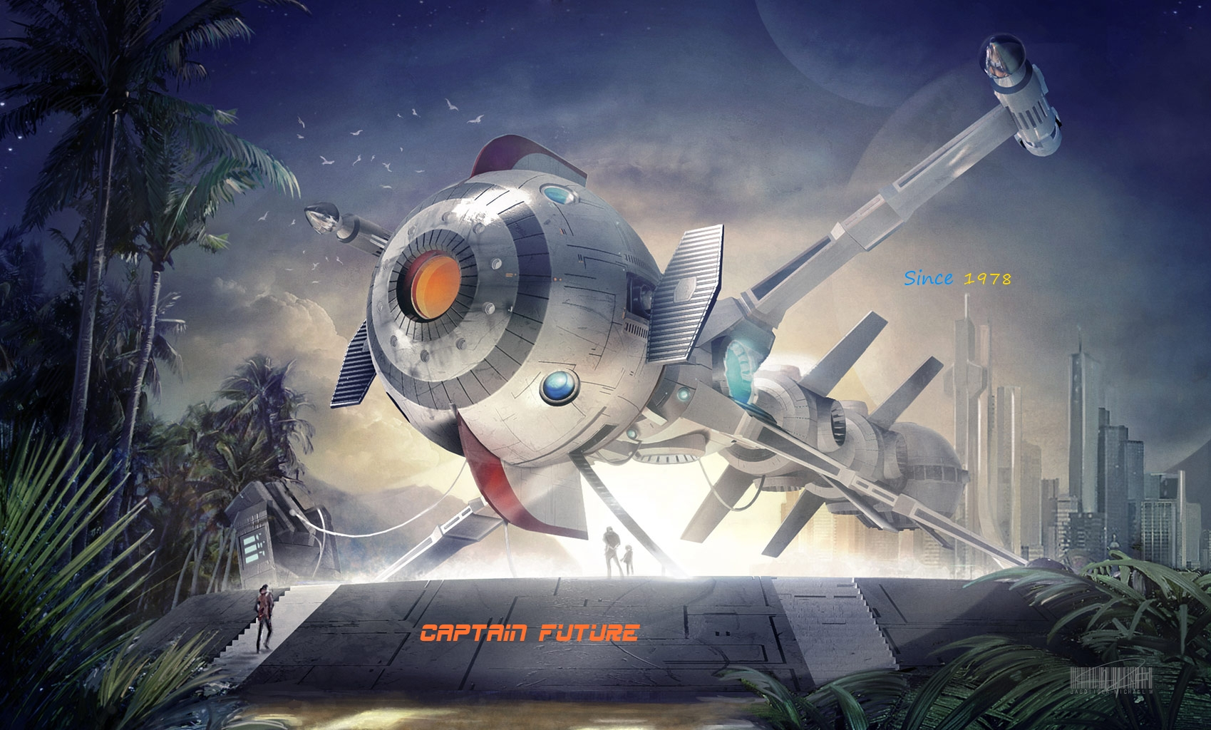 Captain Future by JagdTigerGER