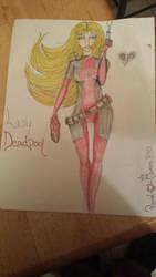 Lady Deadpool  by PandaQueen890