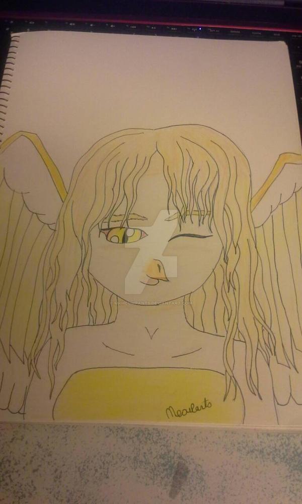Hawke- Original Harpy Character by MrMeowpants