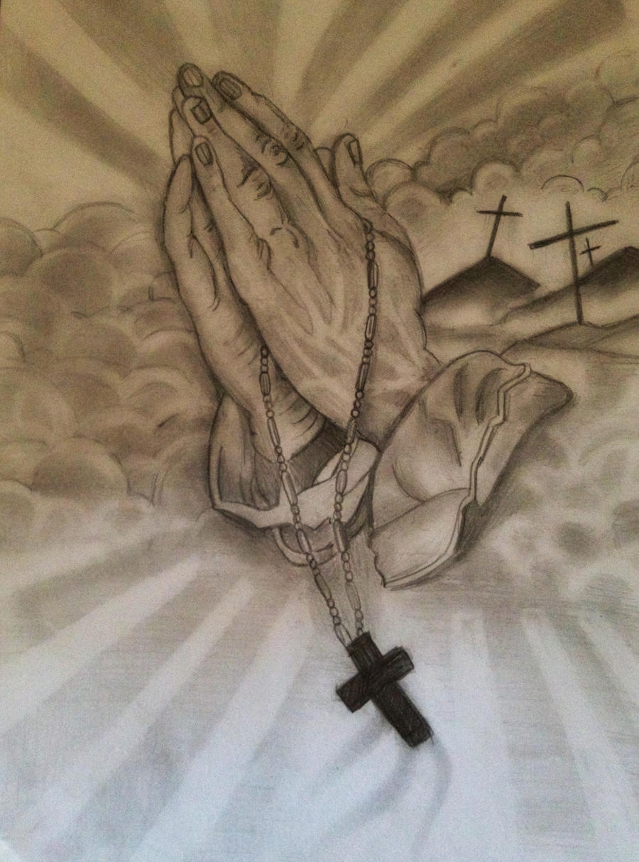 Praying Hands by thejordanhardy on DeviantArt