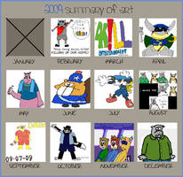 2009 Art Improvement Meme by animetolove