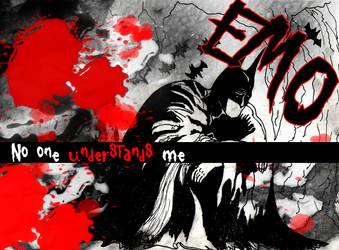 Emo Batman. by lejahn