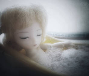 Bathtime Tiny by VampireKetsuki