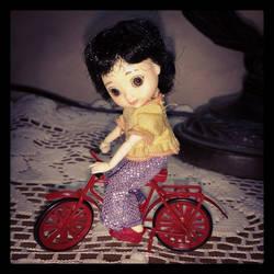 I want to ride my bicycle, I want to ride my bike by VampireKetsuki