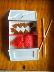 Valentines Bento by VampireKetsuki