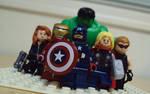 Assemble... (Lego Marvel vignette)