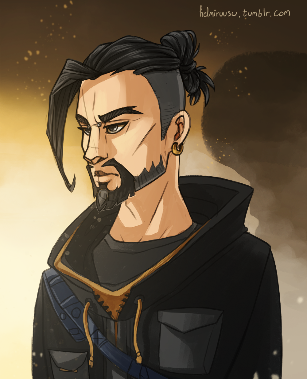 Hanzo Wallpaper: Hanzo By Helmiruusu On DeviantArt