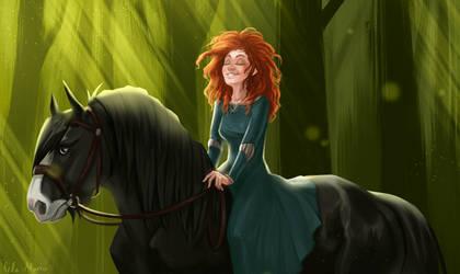 Stroll on a forest by Helmiruusu
