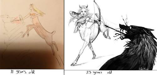 Old vs. New by Helmiruusu