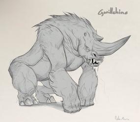 Gorillahino by Helmiruusu
