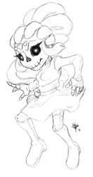 Sugar Skull Mel Stream Request by SpookyLotus