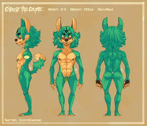 Chronic The Coyote Ref by SpookyLotus