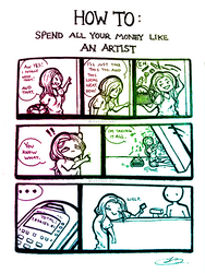 Spend Like An Artist by Lexidus
