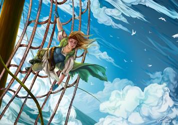 Cloudsailing Corsair by Lexidus