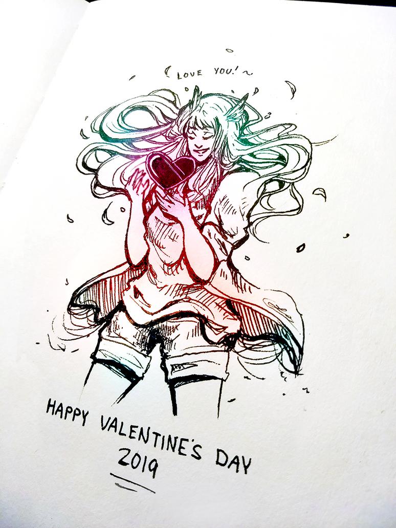 Happy Valentine's Day by Lexidus