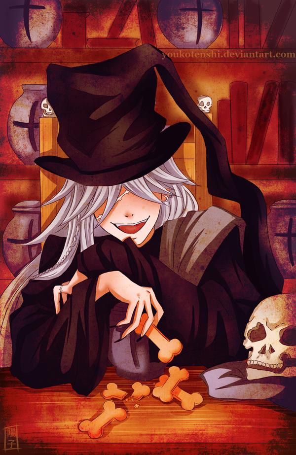 Kuroshitsuji - Undertaker by DahliaDecay