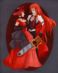 Scarlet Death by Vulgar1sm