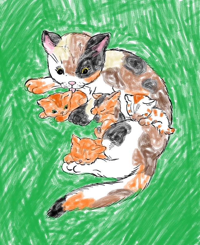 Flarekit Warrior Cats