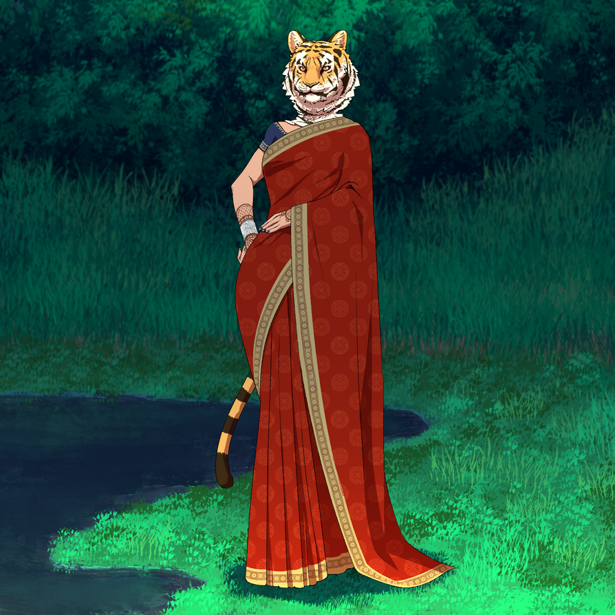 Bengal tiger by tablesalt-821