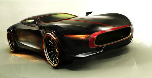 Milton Motors Concept One_2 by MikaelLugnegard