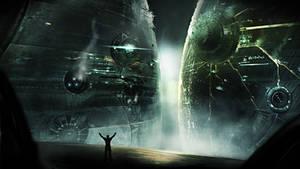 Worlds Apart by MikaelLugnegard