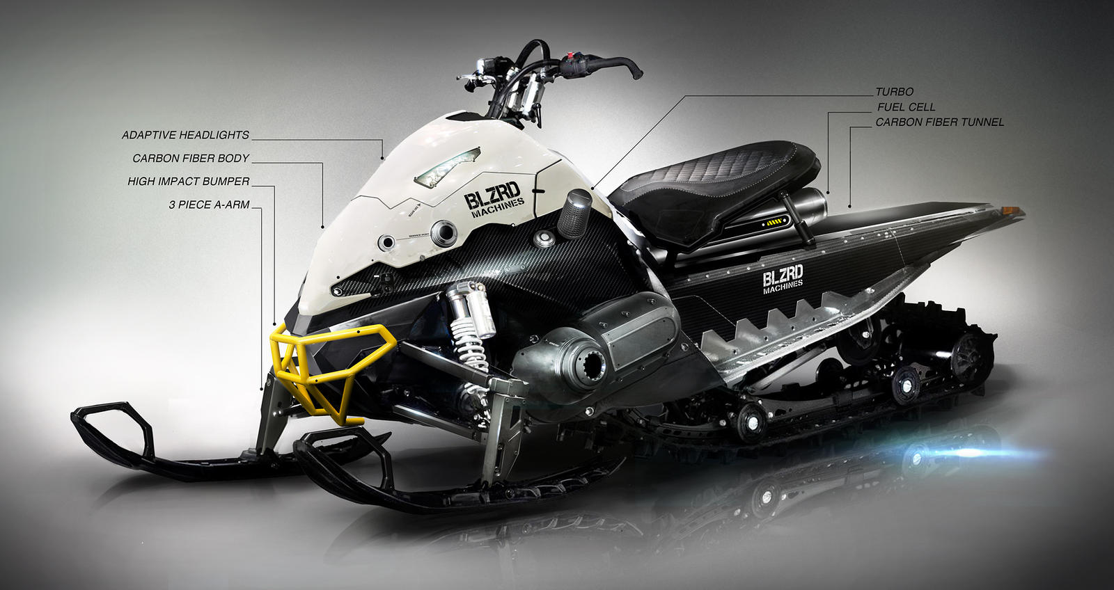 Check Out This Futuristic Concept Snowmobile | Unofficial Networks