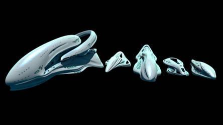 Sophon Spaceships by MetamorpheSTLK