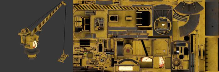 Killing Floor - Dock Crane by MetamorpheSTLK