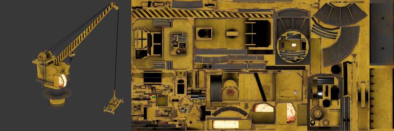 Killing Floor - Dock Crane