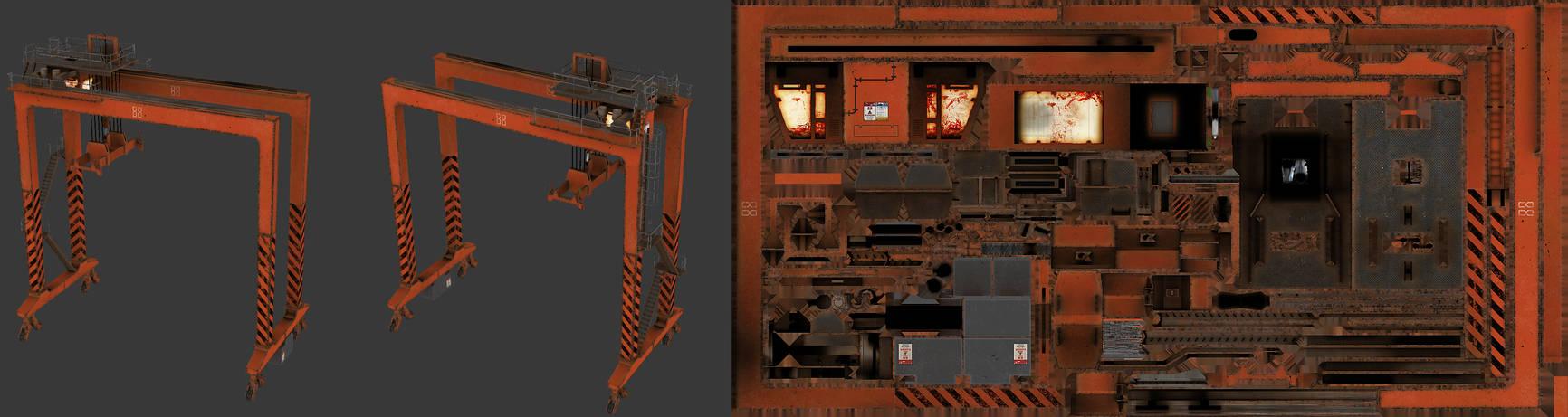 Killing Floor - Large Dock Crane
