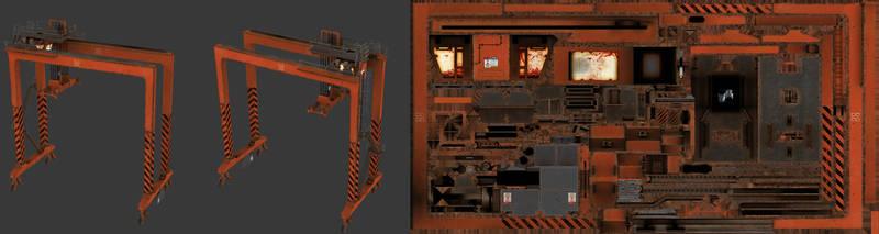 Killing Floor - Large Dock Crane by MetamorpheSTLK