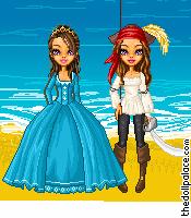 Pirate princess by BlueEyedZeldaFreak