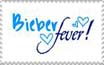 I Have BIEBER FEVER stamp by BlueEyedZeldaFreak