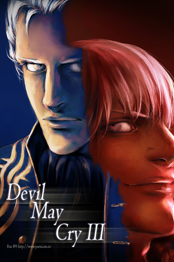 Devil May Cry3 - Vergil,Dante by jjkuin