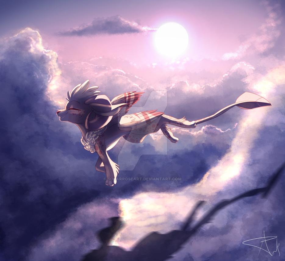 The Ram Flies by SolarPaintDragon