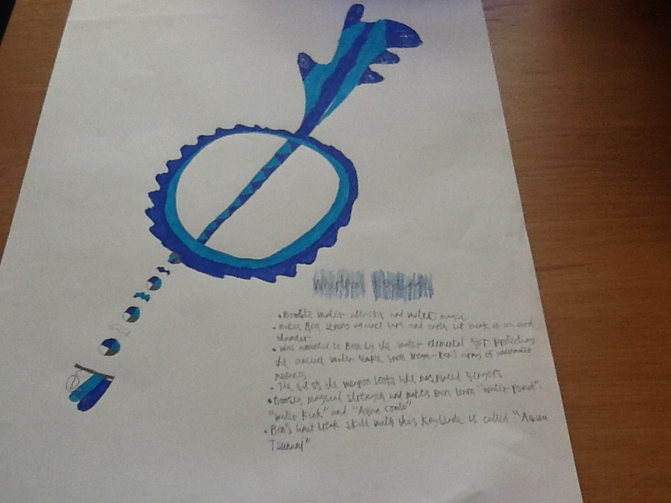 Whirlpool Keyblade by BenBandicoot