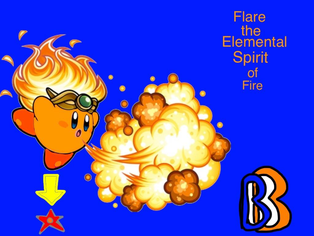 Robert's Elemental Spirit by BenBandicoot