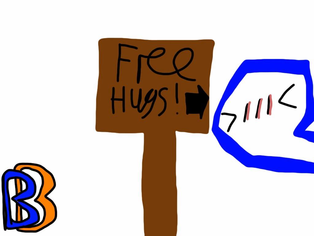 Free Hugs. by BenBandicoot