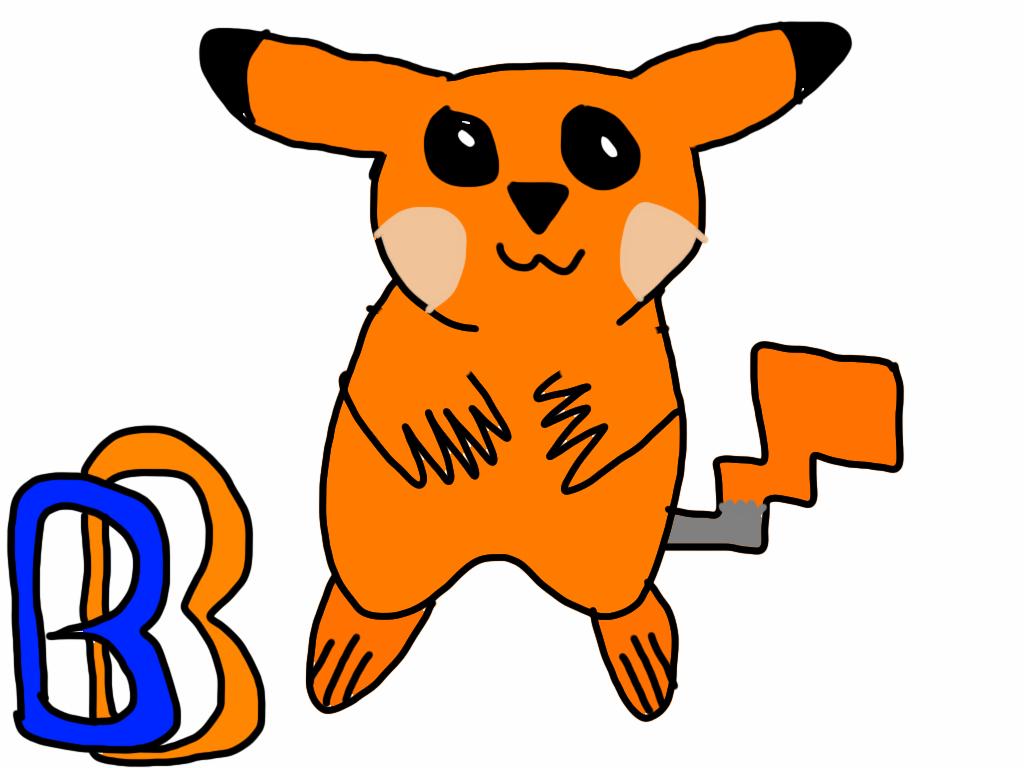 Ben Bandicoot Pikachu Form by BenBandicoot