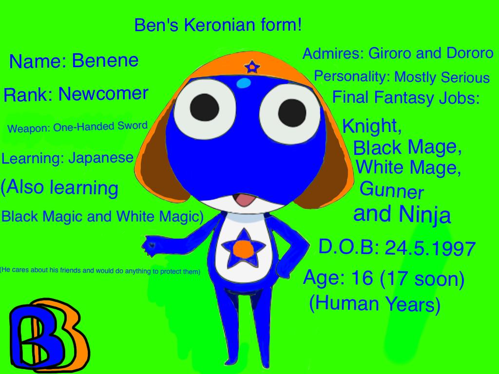 Ben's Keronian form! by BenBandicoot
