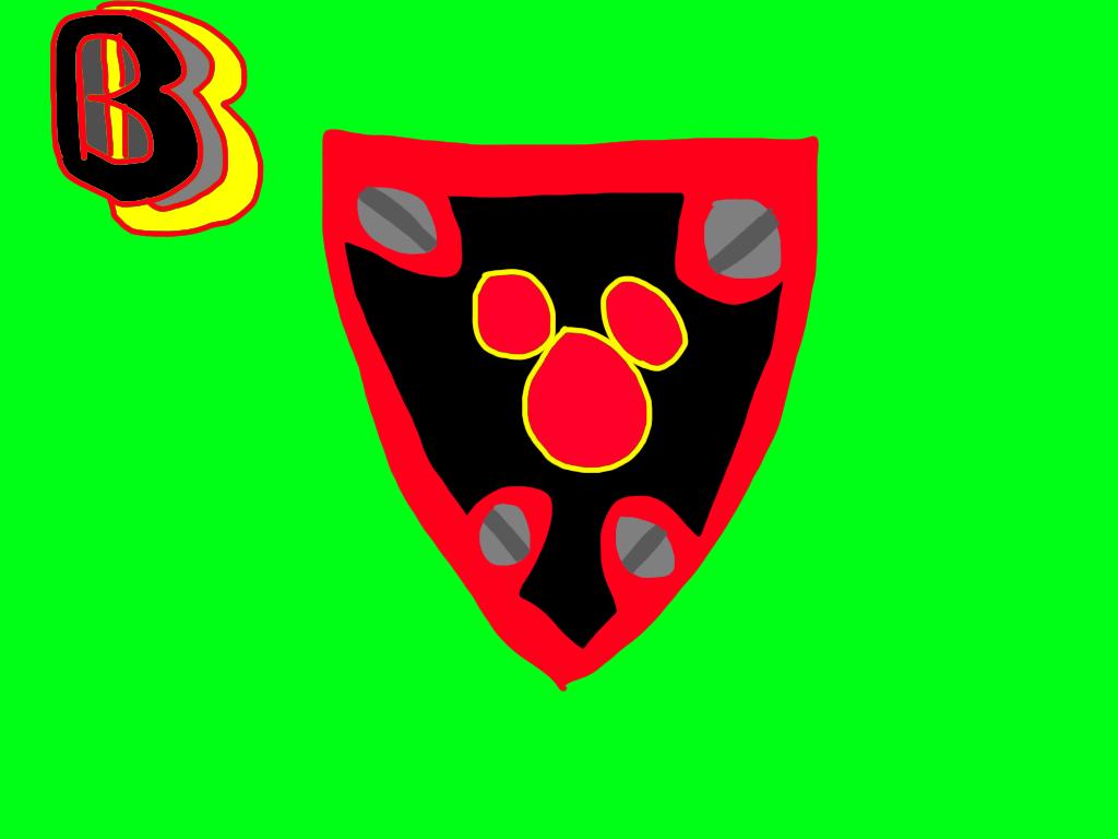 Ben's Knight Shield by BenBandicoot