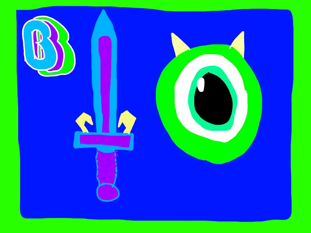 Ben's MU Sword and Shield by BenBandicoot