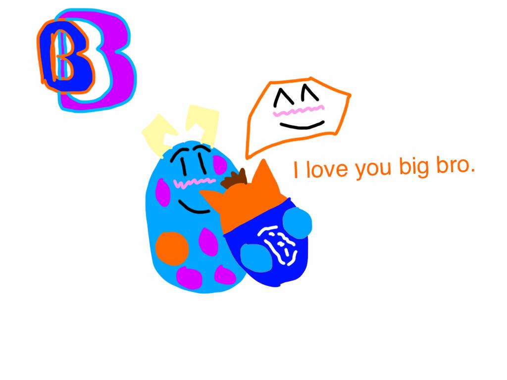 Me and Big Bro by BenBandicoot