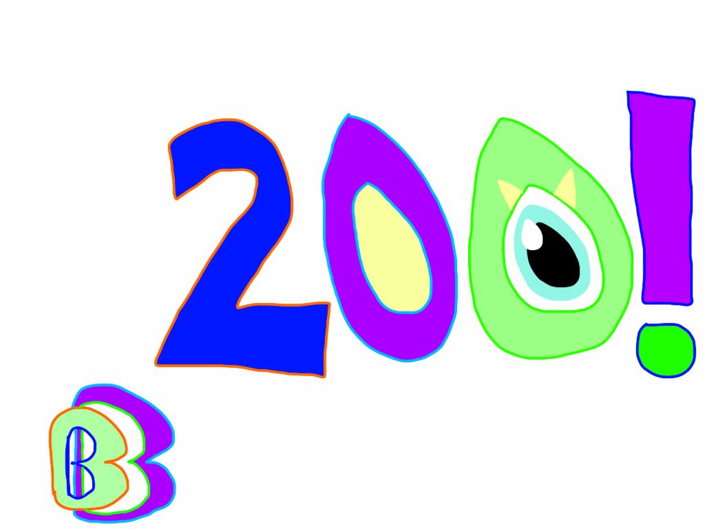 200! by BenBandicoot